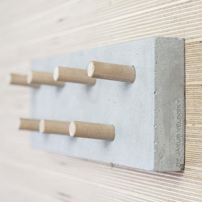 concrete key hanger