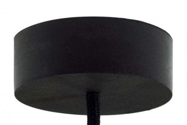 černý gumový baldachýn
